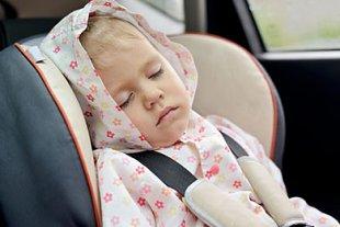 Kind Autositz test