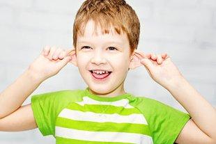 Kind Ohren Abstehend