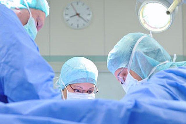 Kaiserschnitt Vollnarkose