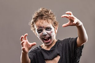 Vampir Halloween gruseln