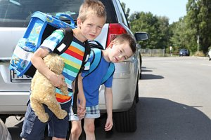 Kinder Schulweg Überbehütung