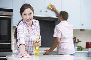 Eltern Haushalt teilen