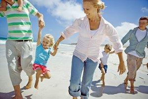 Urlaub befreundete Familie