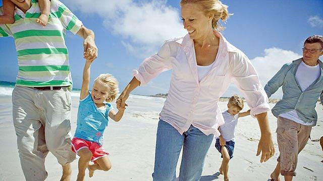 Urlaub befreundete Familie Slider
