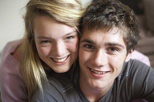 Teenager erste Liebe