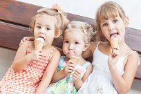 Mädchen Eis Sommer Life Hacks