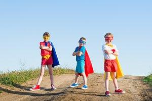 Superheld-Teaser