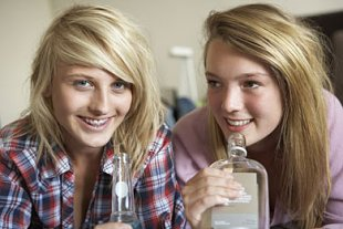 Mädchen Alkohol Artikel