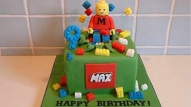 LEGO-Torte-Slider