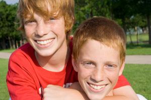 Zwillinge Jungen