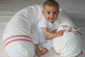 Baby Geschenkideen Stillkissen