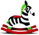 Schaukeltier Zebra Micki