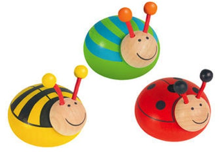 Käfer zum Ziehen und Fahren lassen