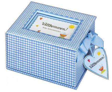 Schatzkästchen für Babyerinnerungen