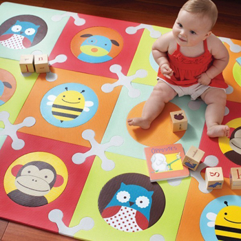 Teppich zum Puzzeln