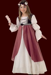 Mittelalterliche Brautjungfer