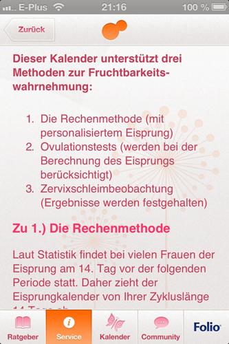 App: Anleitung
