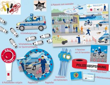 Partykiste Polizei