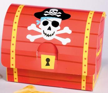 Schatztruhe für Piraten