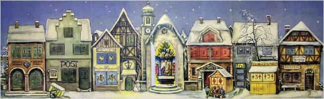 1. Nostalgisch: Bilder-Adventskalender