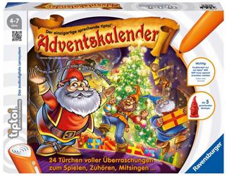 12. Elektronisch: tiptoi-Kalender Weihnachtswichtel