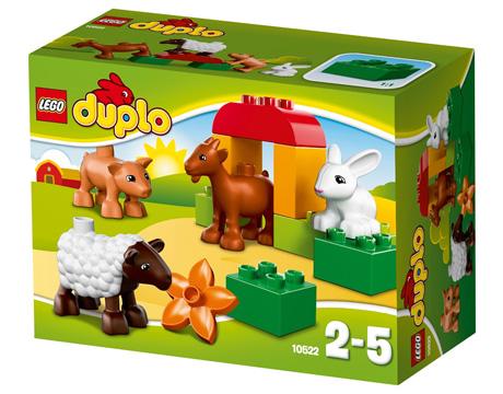LEGO® DUPLO® Bauernhof-Tiere