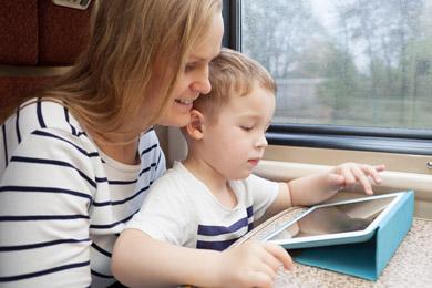 Kind Apps für unterwegs