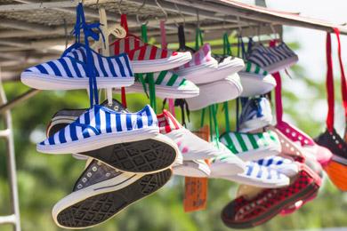 Zahlreiche Schuhe