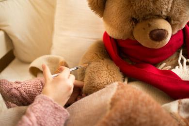Gute Besserung Teddy!