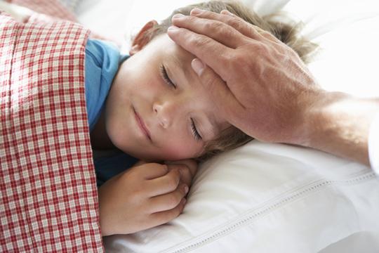 Beim kranken Kind zu Hause bleiben