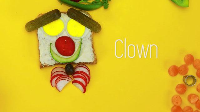 clown gem se macht lustig. Black Bedroom Furniture Sets. Home Design Ideas
