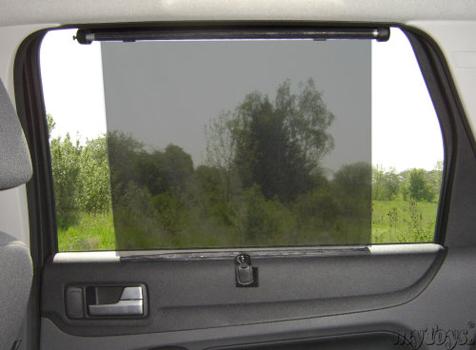 Sonnenrollo fürs Auto