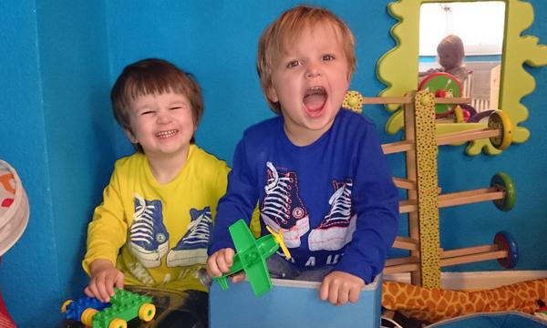 Frühchen Linus und Lucas heute