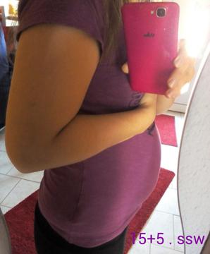 15+5 (1. Schwangerschaft)