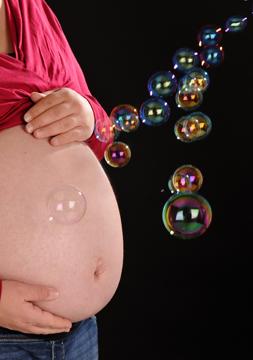 31+3 (1. Schwangerschaft, Zwillinge)