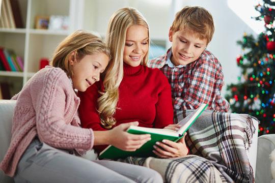 (Weihnachts-)Geschichte vorlesen