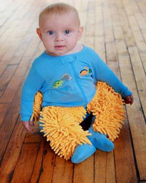 Baby-Mop: Putzige Basisarbeit