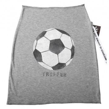 Bauchband mit handgedrucktem Fußball