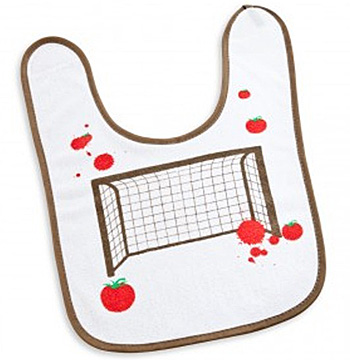 Tomaten-Fußball Kinderlätzchen