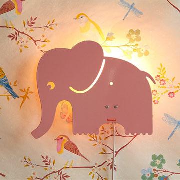 Wandleuchte Elefant