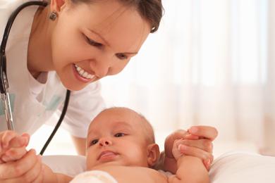 Bei Unsicherheit zum Kinderarzt