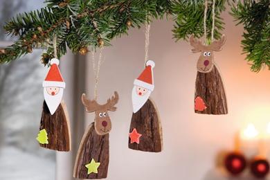 Santa und Rudolf