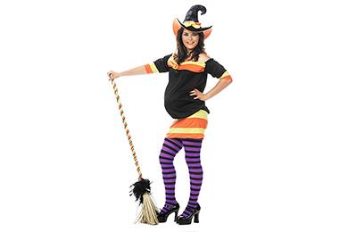 Kostüm für Schwangere: Hexe