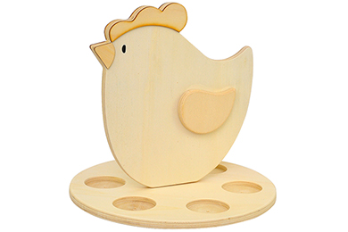 Teelichhalter Huhn