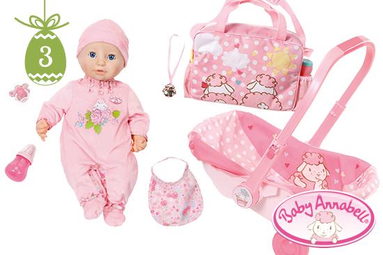 Unterwegs mit Baby Annabell®-Sets von Zapf Creation AG