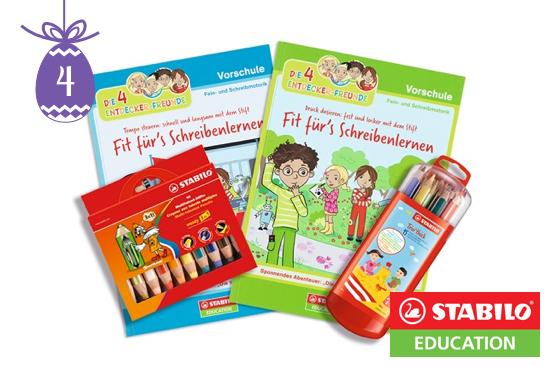 """4 Entdecker-Freunde""-Pakete von STABILO Education"