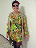 Ein fröhlicher Hippie