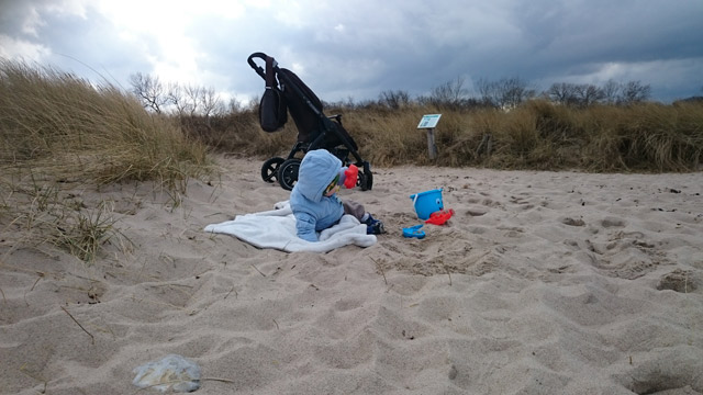 mit dem Stella durch Sand und Dünen...