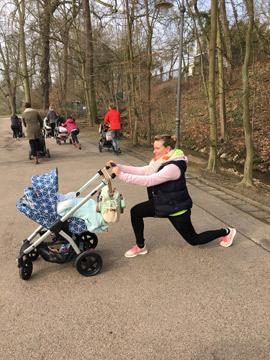 Mama macht Sport – der Stella ist dabei