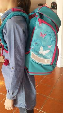 Leicht und ergonomisch – der Schulrucksack passt!